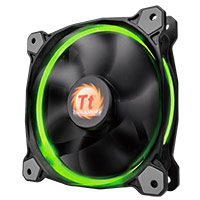 Thermaltake Riing14 Led RGB Fan 256 Colour 140mm with Fan Switch - Click below for large images