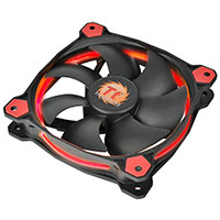 Thermaltake Riing14 Led Red 140mm Fan - Click below for large images