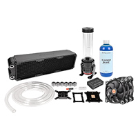 Thermaltake Pacific RL360 RGB Water Cooling Kit With Soft Tubes - Click below for large images
