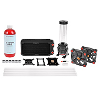 Thermaltake Pacific RL240 D5 Hard Tube Water Cooling Kit - Click below for large images