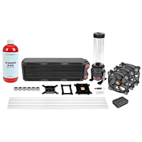 Thermaltake Pacific RL360 D5 Hard Tube RGB Water Cooling Kit - Click below for large images