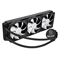 Thermaltake Water 3.0 Ultimate AIO Watercooler 360mm Radiator 3 x 12cm PWM Fans - Click below for large images