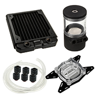 Black Ice  120GTS Professional Water Cooling Kit For AMD - Click below for large images
