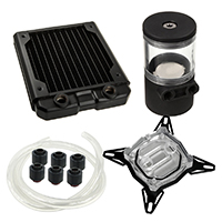 Black Ice  120GTS Professional Water Cooling Kit For INTEL - Click below for large images