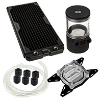 Black Ice  280LS Professional Water Cooling Kit For AMD AM4 - Click below for large images
