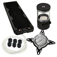 Black Ice  360GTS Professional Water Cooling Kit For Intel - Click below for large images