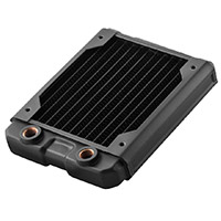 Black Ice  Nemesis GTS 120 Radiator - Black - Click below for large images