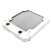 Black Ice  Nemesis GTS 120 Radiator - White - Click below for large images