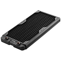 Black Ice  Nemesis GTS 280 Radiator - Black - Click below for large images