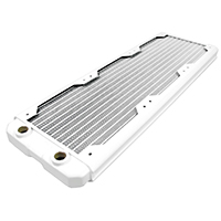 Black Ice  Nemesis GTS 360 Radiator - White - Click below for large images