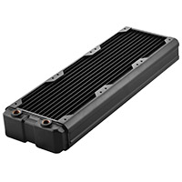 Black Ice  Nemesis GTX 360 Radiator - Black - Click below for large images