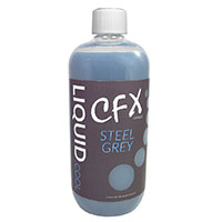 Liquid Cool  CFX Pre Mix Opaque Performance Coolant 1000ml Steel Grey - Click below for large images