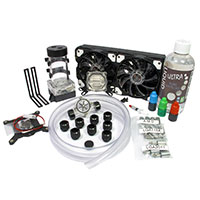 Liquid Cool  Vortex One Advanced DIY 240mm Water Cooling Kit - Click below for large images