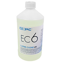 XSPC EC6 Non Conductive Coolant Clear UV - Click below for large images