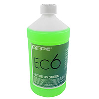 XSPC EC6 Non Conductive Coolant Green UV - Click below for large images
