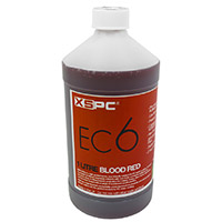 XSPC EC6 Non Conductive Coolant Blood Red - Click below for large images
