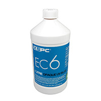 XSPC EC6 Premix Opaque Coolant Blue UV - Click below for large images