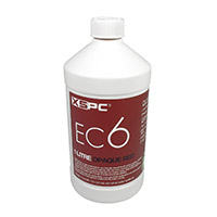 XSPC EC6 Premix Opaque Coolant Red - Click below for large images