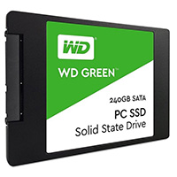 Western Digital Green 240GB SSD (Read 545MB/s Write 465MB/s) 3 Year Warranty - Click below for large images