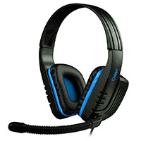 Sades  SA-711 Chopper Blue PC Stereo Gaming Headset - Click below for large images