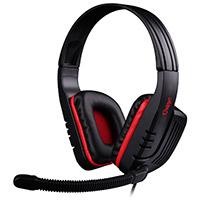 Sades  SA-711 Red PC Stereo Gaming Headset - Click below for large images