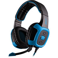 Sades  SA-906 Shaker PC Virtual 7.1 Sound with Vibration Gaming Headset - Click below for large images