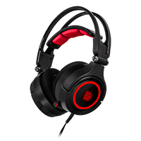 Thermaltake Tt E-Sports Cronos Riing RGB 7.1 Surround Sound Gaming Headset - Click below for large images