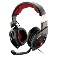 Thermaltake E-Sports Shock 3D Gaming Headset 40mm Drivers 7.1 Sound Black - Click below for large images