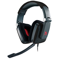 Thermaltake E-Sports Shock Gaming Headset 40mm Drivers 3.5mm Black - Click below for large images