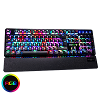 GameMax Strike Mechanical RGB Outemu Red Switch - Click below for large images
