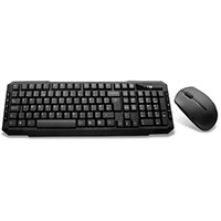 Builder Wireless Keyboard & Mouse Combo Set Black - Click below for large images
