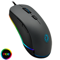 GameMax Strike Gaming Mouse Pulsing RGB - Click below for large images