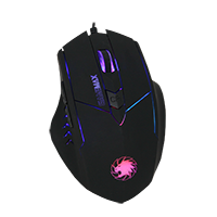 GameMax Tornado Gaming Mouse 7 colour Led - Click below for large images