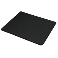 Black Mouse Mat in Cellophane Bag - Click below for large images