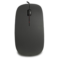 Scroller Slim Optical Wired Mouse 800 DPI - Click below for large images