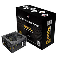 Aerocool Integrator 850W PSU 12cm Black Fan Active PFC TW Caps UK Cable - Click below for large images