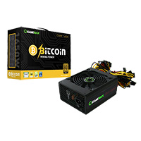Game Max GM 1350W Mining 80 Plus Gold PSU 14cm Fan - Click below for large images