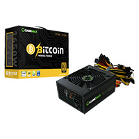 Game Max GM 1650W Mining 80 Plus Gold PSU 14cm Fan - Click below for large images