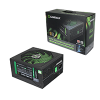 GameMax GM500 500w 80 Plus Bronze Modular Power Supply - Click below for large images