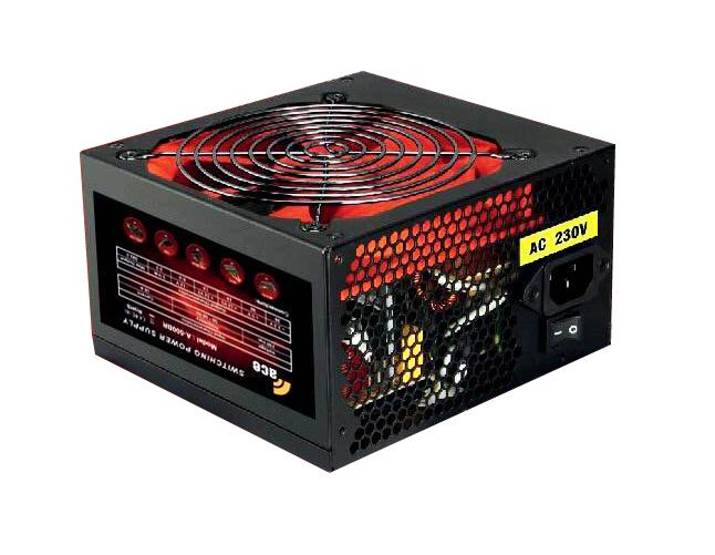 ACE PSU 750W 12cm red fan