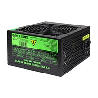 500W Builder Black 12cm PSU White Box PFC CE 3 x SATA - Click below for large images
