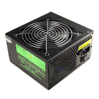 Unbranded 500W Builder Black 12cm PSU White Box PFC CE 3 x SATA - Click below for large images