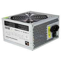 ACE 520W Grey PSU 12cm Fan SATA 24-Pin Model 520W - Click below for large images