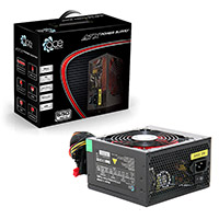 ACE 650W BR Black PSU with 12cm Red Fan & PFC - Click below for large images
