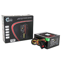 ACE 750W BR Black PSU with 12cm Red Fan & PFC - Click below for large images