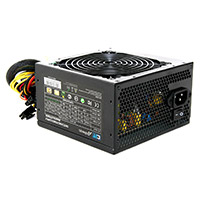 CiT 500W APFC 85% Efficient PSU EuP Lot 6 Ready 12cm Black Fan Retail Boxed - Click below for large images