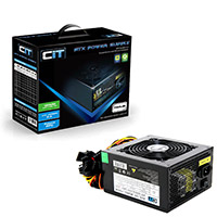 CiT 750W Black Edition PSU 12cm Single 12v CE PFC Model 750UB   - Click below for large images