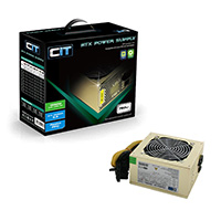 CiT 750W Gold Edition PSU 12cm 24-Pin SATA Model 750U  - Click below for large images