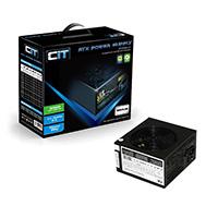 CiT 850W Black Edition PSU 12cm Single 12v CE PFC Model 850UB  - Click below for large images