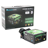 Powercool  750W 80+ Single 12v V2.31 High Efficiency Black PSU - Click below for large images